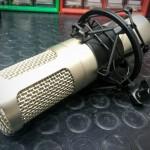 Reparación de micrófono de condensador