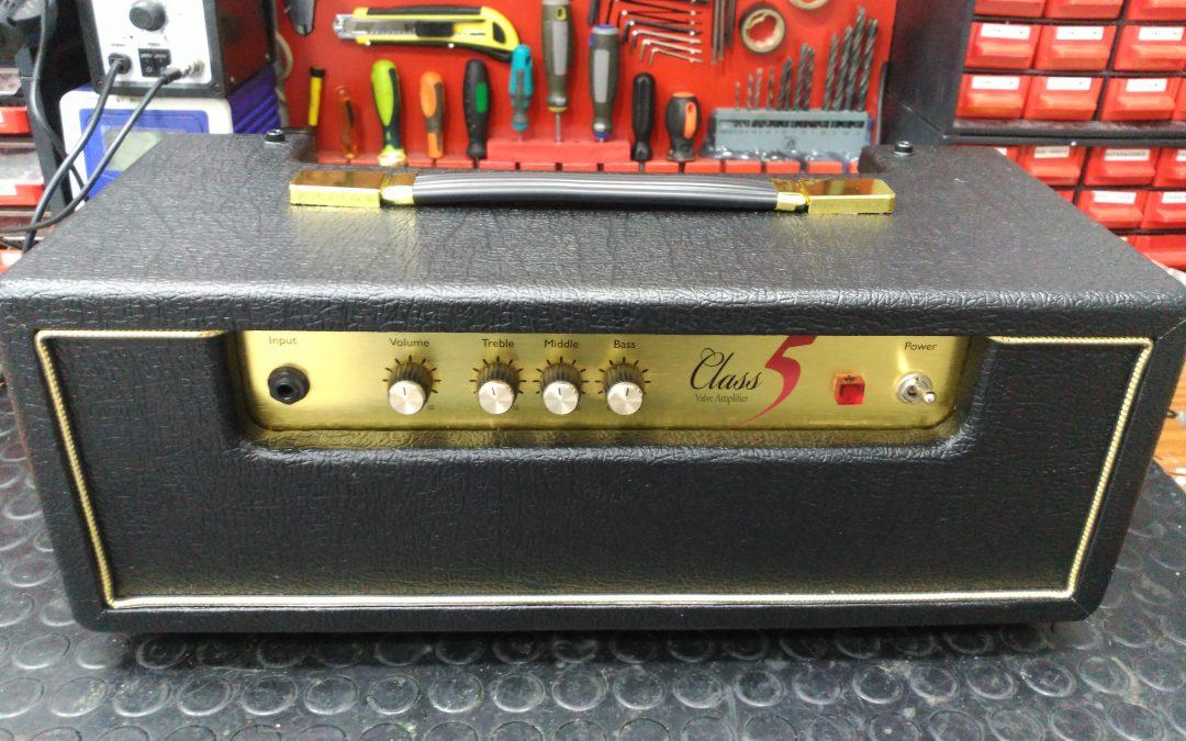 Fabricación de cabezal de guitarra