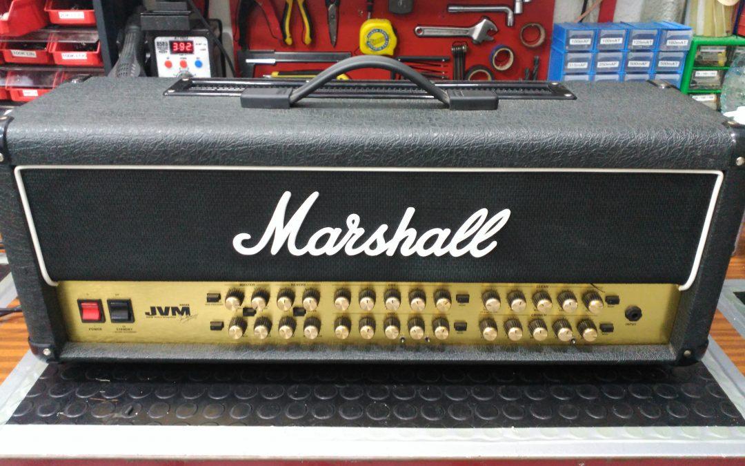Modificación del Marshall JVM410: Bobina de choke