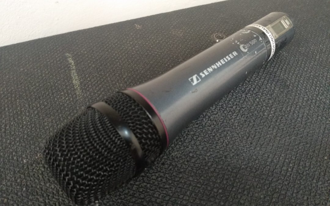 Reparación de micrófono Sennheiser SKM100