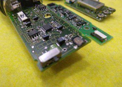 Placa de circuito del micrófono