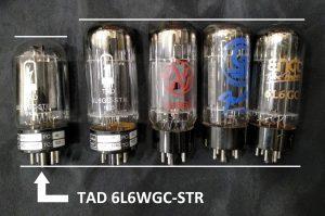Comparativa de válvulas 6L6WGC